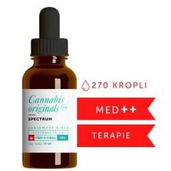 Olejek CBD CO2 SPECTRUM 35% 10ml Cannabis originals