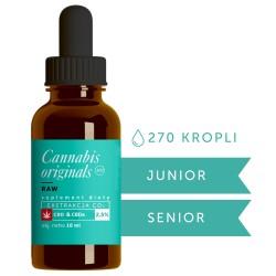 Olejek CBD CO2 RAW 2,5% 10ml Cannabis originals