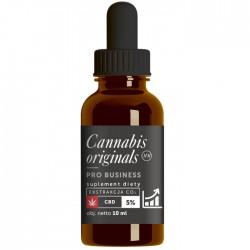 Olejek CBD PRO Business 5% 10ml Cannabis originals