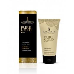 Afrodita, Pure Gold - Luksusowa maska ze złotem 150 ml
