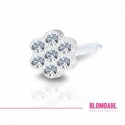 Blomdahl, Daisy Crystal 5 mm
