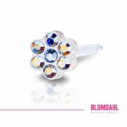 Blomdahl, Daisy Rainbow/ Alexandrite 5 mm
