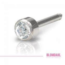 Blomdahl, Long Bezel Crystal 4 mm
