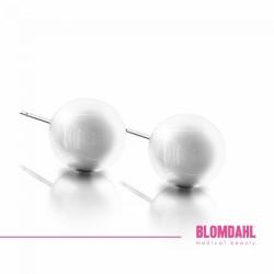 Blomdahl, Pearl White 6 mm SFJ