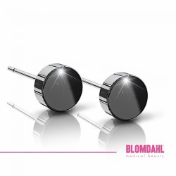 Blomdahl, Czarny tytan medyczny Puck 6 mm SFJ