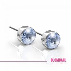Blomdahl, Srebrny tytan medyczny, Bezel Alexandrite 5 mm SFJ