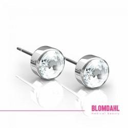 Blomdahl, Srebrny tytan medyczny, Bezel Crystal 5 mm SFJ
