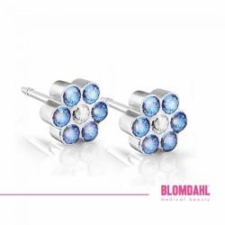 Blomdahl, Plastik medyczny, Daisy Sapphire/ Crystal 5 mm SFJ