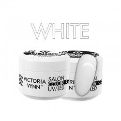 Victoria Vynn - COLOR GEL NO WIPE WHITE - żel kolorowy bez warstwy dyspersyjnej