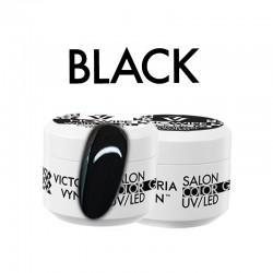 Victoria Vynn -COLOR GEL NO WIPE BLACK - żel kolorowy bez warstwy dyspersyjnej